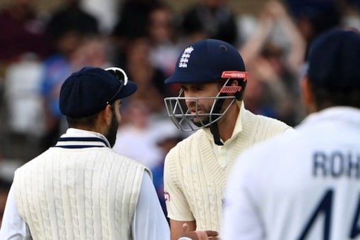 Virat Kohli and James Anderson were engaged in a verbal duel.