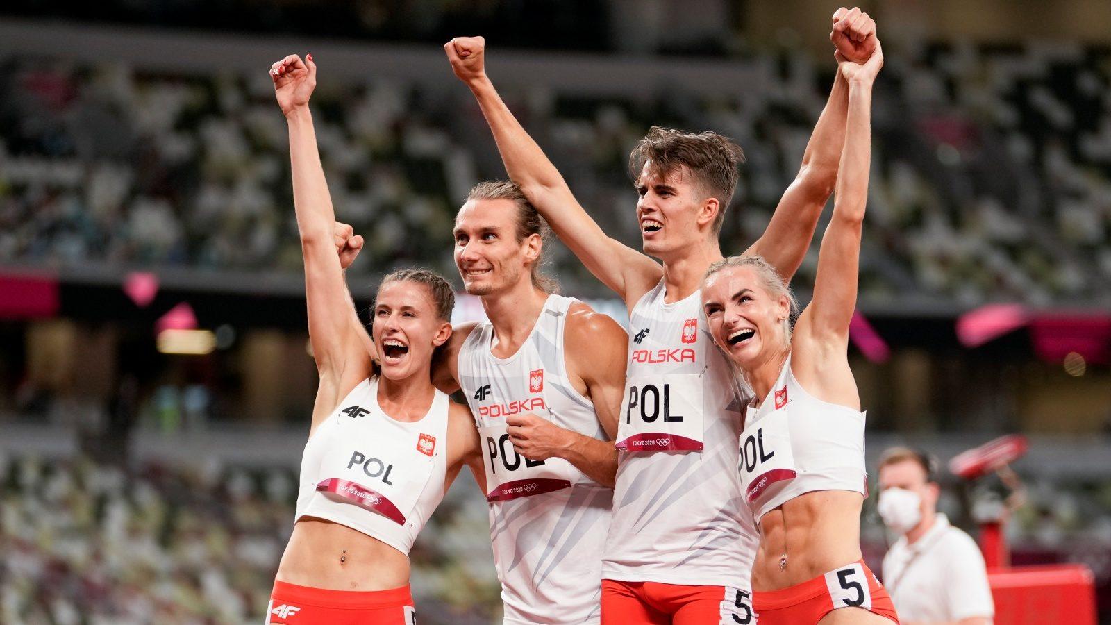 Tokyo Olympics: Poland Win Inaugural 4x400m Mixed Relay Gold