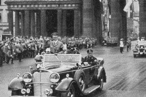 Hitler opened the 1936 Olympic games in Germany.