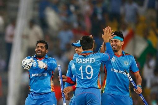 Afghanistan Cricket Team Pic. ICC