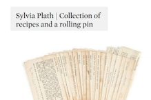 Sylvia Plath's Love Letters to Ted Hughes, Rolling Pin, Recipes Sell at Auction