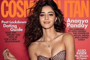 Ananya Panday Aces Magazine Cover In Racy Bikini Top, See The Diva Look Super Sexy