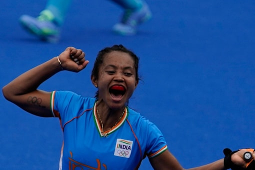 Indian women's hockey team beat Australia to make their first-ever semis at the Olympic Games  (AP Photo)
