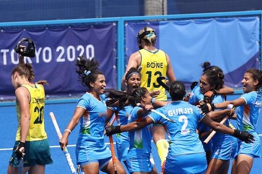 Indian women's hockey team made history at Tokyo 2020. (Hockey India Twitter Photo)