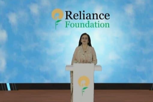 Nita Ambani, chairperson and founder of Reliance Foundation.