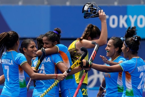 India women hockey team have entered the semis for first time in Olympic history (AP Photo)