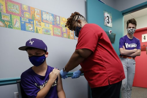 A child being administered vaccine (Representational photo: Reuters)