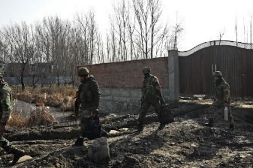Ceasefire violations reported a drastic drop in 2021 during the months between March and June. (Image: AFP)