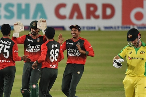 The BAN vs AUS 2nd T20I is scheduled to start at 5:30 PM IST on Wednesday, August 04.(Twitter)