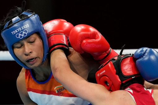 Lovlina is the only India boxer to win a medal at Tokyo 2020 (AP Photo)