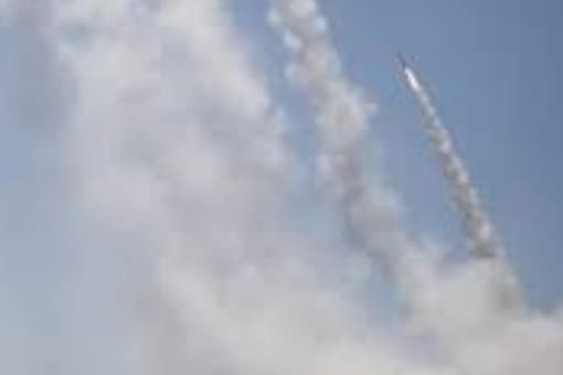 Two rockets launched from Lebanon struck Israel on August 4. File photo of Israel-Gaza conflict in May 2021.
