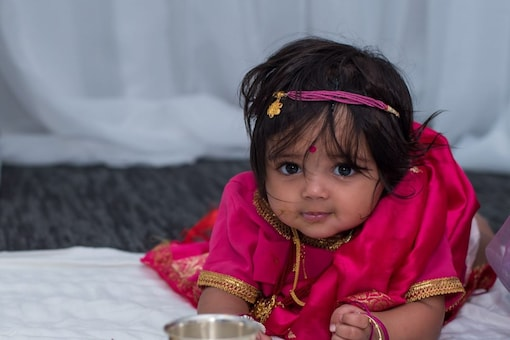 Once the puja and hawan are finished, the priest feeds any sweet dish like kheer to the newborn, followed by other members of the family. (Representational image: Shutterstock)