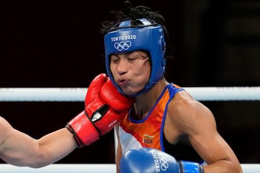 Lovlina Borgohain bagged a bronze medal for India. (AP Photo)