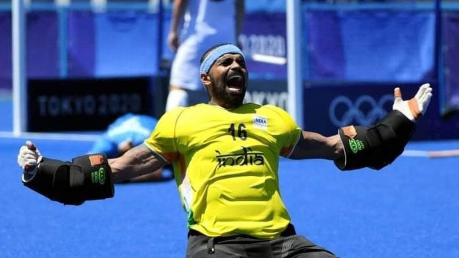 PS Sreejesh Shares Joyous Photo on Social Media After Historic Win at Tokyo Olympics