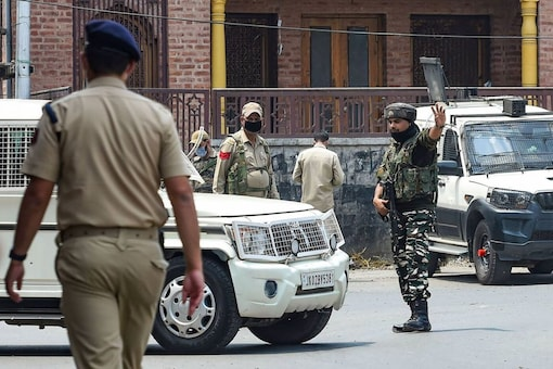 A civilian was harmed in a grenade attack in Srinagar on Aug 10, 2021 (Image for representation/PTI/S Irfan)