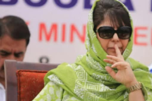 PDP President Mehbooba Mufti took to twitter to express her dissatisfaction over the decision of the J&K administration.  (File photo: PTI)