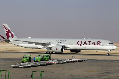 A Qatar Airways Airbus A350 parked on airport.  (Image: Reuters)