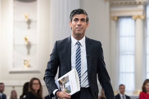 The UK's finance minister Rishi Sunak has retained his role.(Reuters Photo)