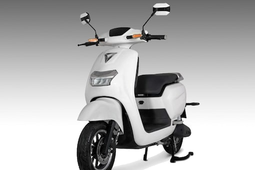 Omega Seiki Mobility has unveiled new electric scooters including this, the Omega Seiki Flare. (Photo: Omega Seiki Mobility)
