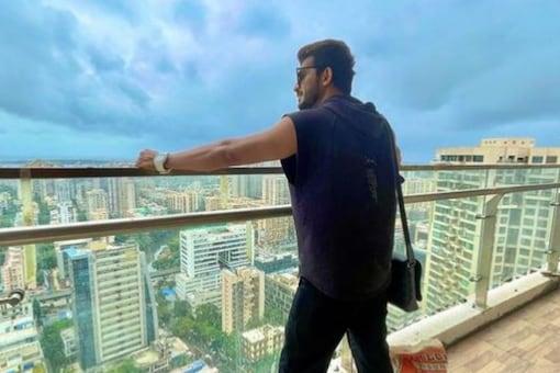 Arjun Bijlani in his new Mumbai apartment.
