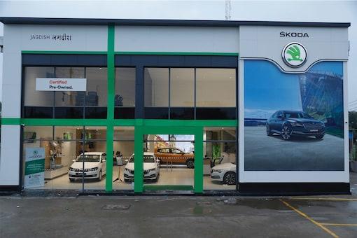 The new Skoda dealership that has opened in Bhopal. (Photo: Skoda)