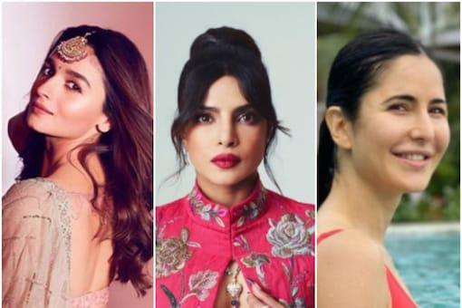 (L to R): Alia Bhatt, Priyanka Chopra and Katrina Kaif will be seen in Jee Le Zaraa