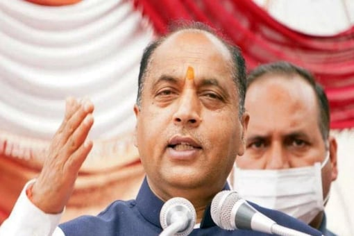 Himachal Pradesh CM Jai Ram Thakur on Tuesday said that though the COVID-19 situation in Himachal Pradesh is under control, the pandemic is not yet over.  (Image: News18 Hindi)