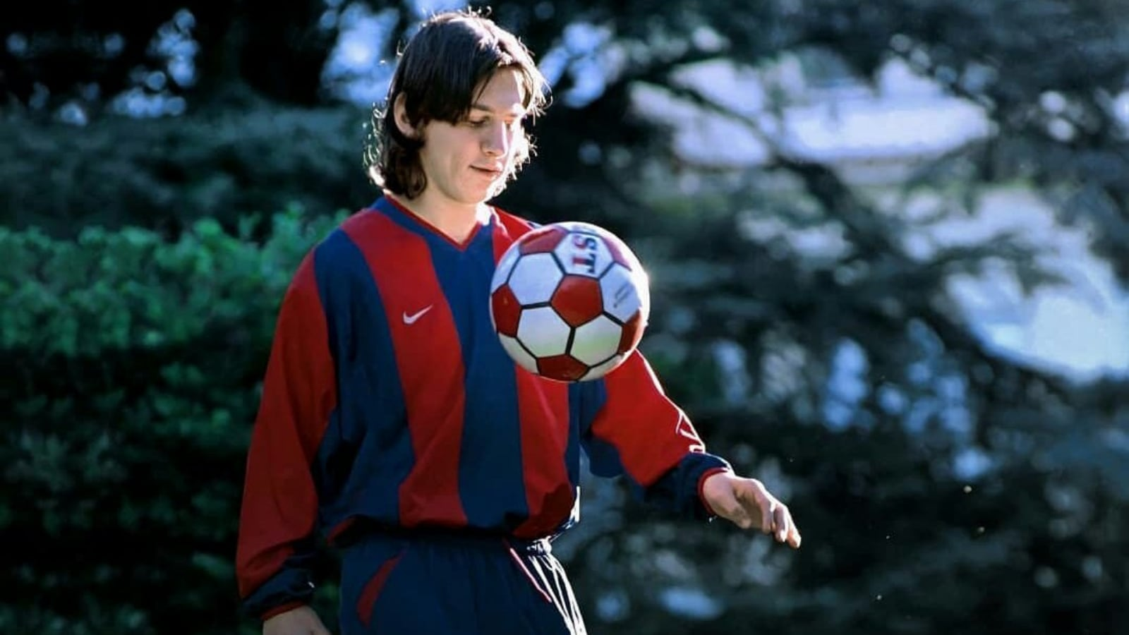 Barcelona Shares Lionel Messi's Amazing Moves from His Academy Days   Watch