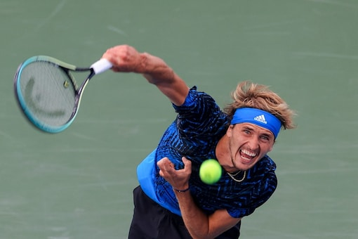 Alexander Zverev will sue over domestic abuse allegations. (AP Photo)