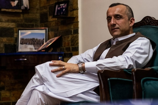 As president Ashraf Ghani fled, Afghanistan's vice-president Amrullah Saleh vowed to not leave his country and fight the Taliban. (New York Times)