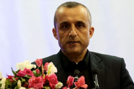 """Amrullah Saleh said on Twitter that he is in Afghanistan and is the """"legitimate caretaker president"""" (File photo/Reuters)"""