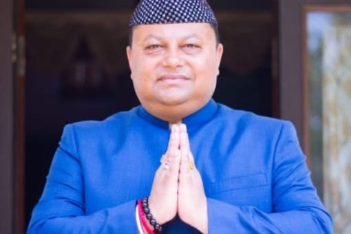 Anit Thapa, who is heading a faction of the Gorkha Janmukti Morcha, has decided to float a new political party, according to sources. (Image: Twitter @AnitThapa14)