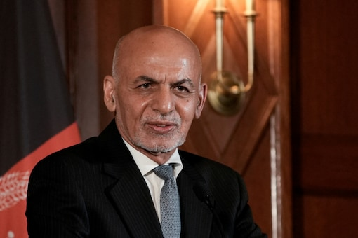 Ghani was earlier reported to have taken shelter in neighbouring Tajikistan or Uzbekistan.  (Reuters)