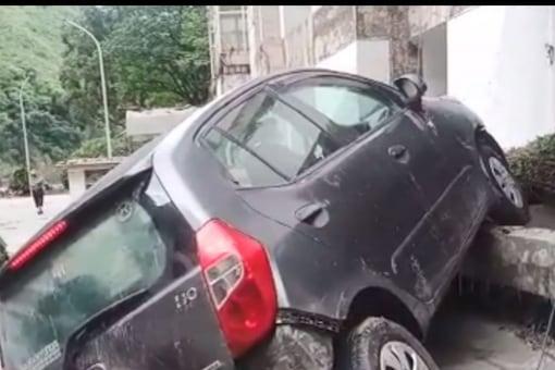 A video still from the affected village Jumma. (News18 photo)