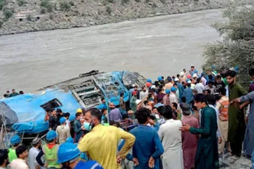 The bomb attack took place on July 14 in the Dasu area of Upper Kohistan district. (File photo/AP)