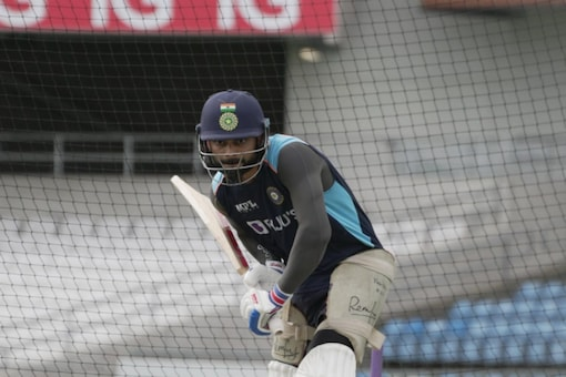 Virat Kohli during a training session at Headingly, Leeds, the venue for the third Test.