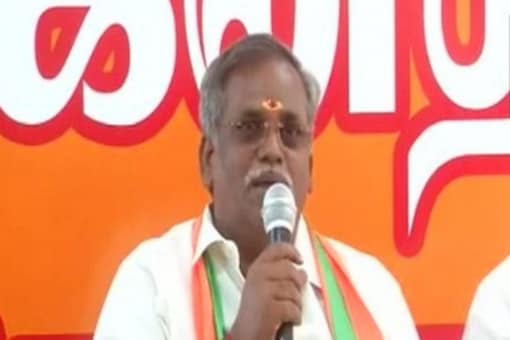 Puducherry Assembly Speaker Embalam R Selvam suffered a mild heart attack on Tuesday and was shifted to a hospital in Chennai. (File photo: ANI)