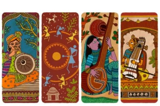 Mumbai-based guest artist Sachin Ghanekar designed the Google Doodle for 2020.