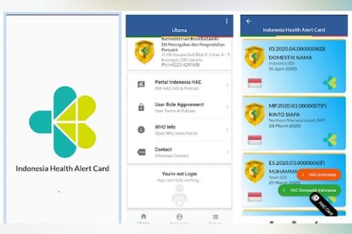 Penggunaan Indonesia Health Alert Card (eHAC)