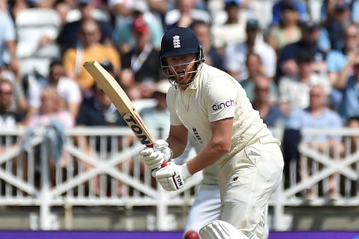 England's Jonny Bairstow in action during the first Test (AP)