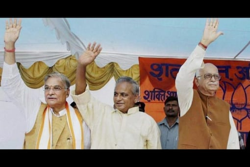 Kalyan Singh was elected as the BJP's first UP CM although the choice was resented by the upper castes that chafed at the Mandal report. (PTI File)