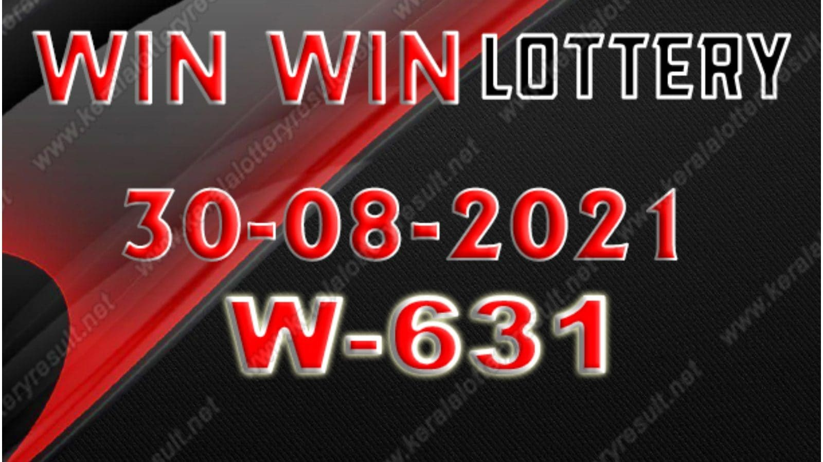 Kerala Win Win W-631 Lottery Result 2021 Live Updates: Check Winning Numbers for August 30