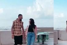 Krunal Pandya, Pankhuri Sharma's dance video on Dua Lipa's famous song Levitating has lit the internet