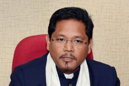 Meghalaya Chief minister Conrad K Sangma. File pic: PTI
