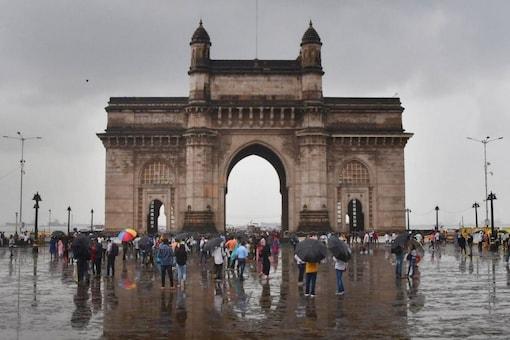 Gateway of India after rain in Mumbai. (Image: PTI)
