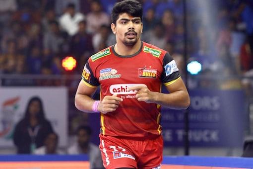 Pawan Sehrawat has been retained by Bengaluru Bulls (Twitter)