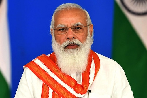 If any Indian is in trouble, PM Modi said,  then India stands up to help with all its might. (File pic)