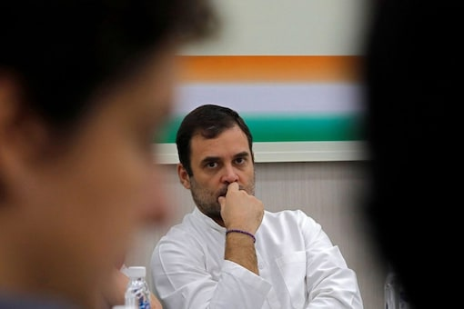 Rahul Gandhi's Twitter handle was locked on temporarily after he shared pictures of the family of a nine-year-old alleged rape-and-murder victim in Delhi last week in violation of laws. (Reuters)