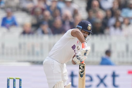 Rishabh Pant was out cheaply in India's first innings at Headingley. (AP Photo)