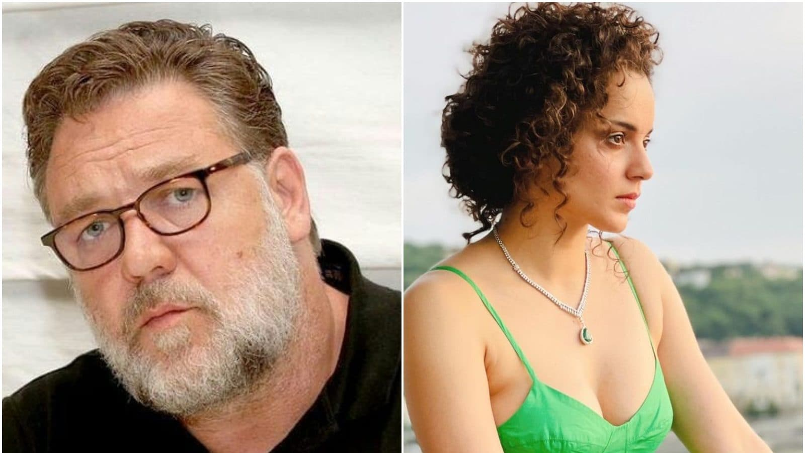 Russell Crowe Retweets Fan's Wish to See Him in a Movie with Kangana Ranaut
